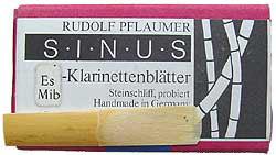 Pflaumer Blätter für Es-Klarinette Sinus Stärke 2