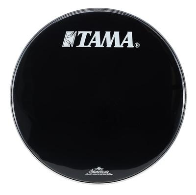 22 Resonant Bass Drum Black