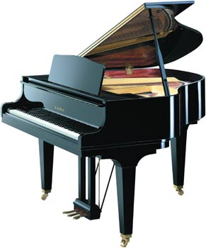 Kawai GM 10 K E/P Black Polished