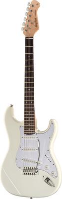 Harley Benton ST-20 Standard Serie E-Gitarre weiß