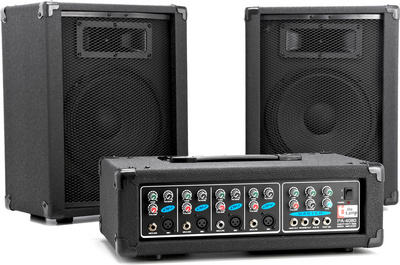 the t.amp Pa 4080 Package PA Komplett-System