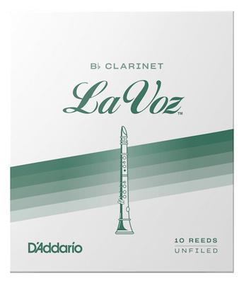 Rico La Voz Medium-Soft Blätter bür B-Klarinette