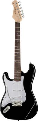 Harley Benton ST-20LH BK E-Gitarre