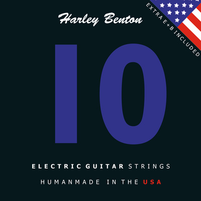 Harley Benton 10 Saiten für E-Gitarre