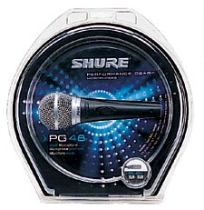 Shure PG48 XLR dynamisches Mikrofon