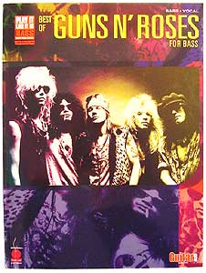 Hal Leonard Guns N'Roses Best Of Bass