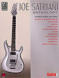 Hal Leonard Joe Satriani Anthology