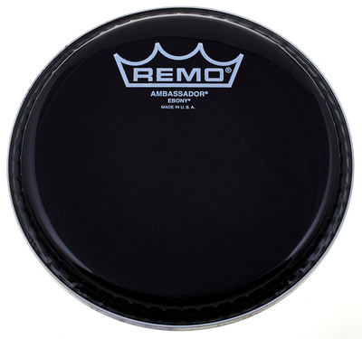 18 Ambassador Ebony Bass Drum