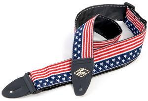 Guitar Strap USA Flag