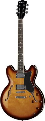 Harley Benton E-35 VS Vintage Semiakustik E-Gitarre