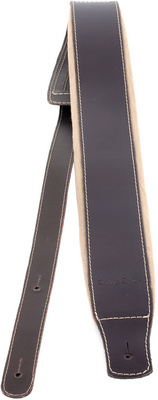 Guitar Strap Padded Brown