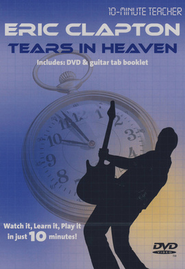 Music Sales Eric Clapton Tears In DVD