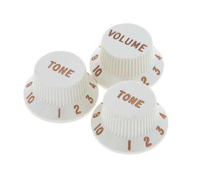 Fender Vol&Tone Knobs Set Parchment