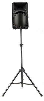 Mackie SRM 450 V2 Black Stand Bundle