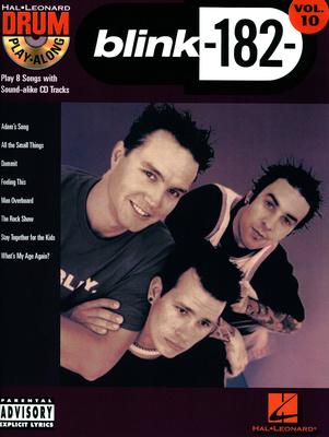 Hal Leonard Blink 182 Drum Play Along #10
