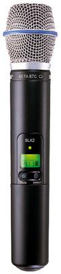 Shure SLX 2 / Beta 87C / Q24