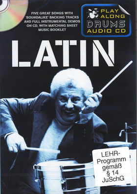 Wise Publications Play Along Drums Latin