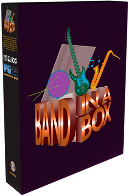 PG Music Band-in-a-Box Pro PC G Edu