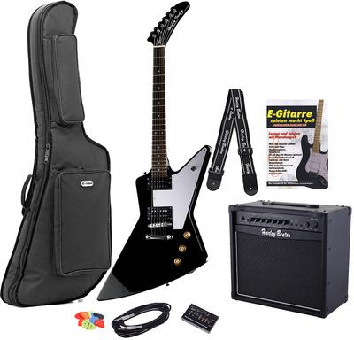 Harley Benton EX-76 BK Rock Series Set 2