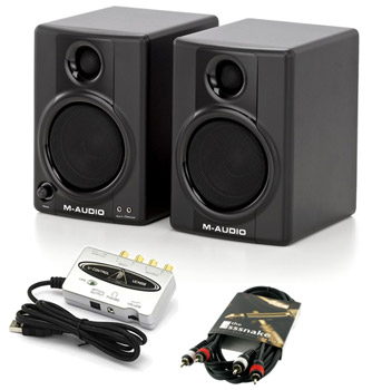 M-Audio AV40 Studiophile Bundle