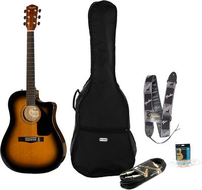 Fender CD-60 CE SB Bundle