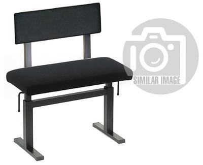 484 Piano Bench w Backrest