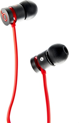 Beats By Dr. Dre urBeats Matte Black B-Stock
