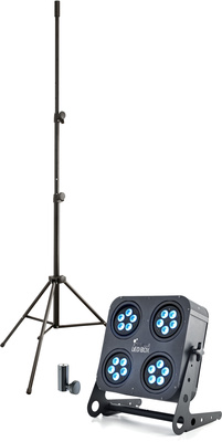 Stairville LED Box 80 QCL Stand Bundle