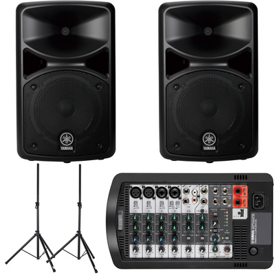 yamaha stagepas 400i bundle dancetech. Black Bedroom Furniture Sets. Home Design Ideas