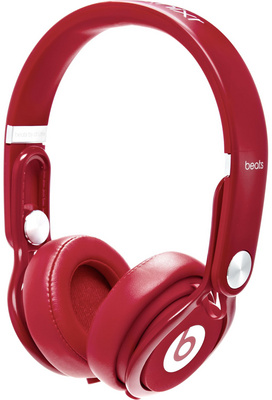 Beats By Dr. Dre Beats Mixr Red B-Stock