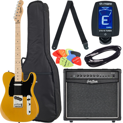 Fender SQ Affinity Tele MN BB Bundle2