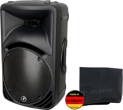 Mackie SRM 450 V2 Black Cover Bundle