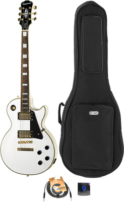 Epiphone Les Paul Custom Pro AWH Bundle