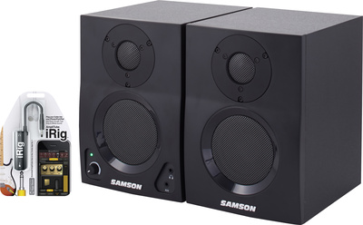 Samson MediaOne BT3 iRig Bundle