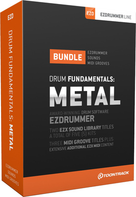 Toontrack Drum Fundamentals: Metal