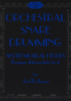 J.R. Publications Orchestral Snare Drumming: