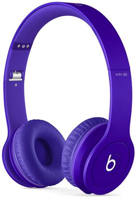 Beats By Dr. Dre solo HD Matte Purple