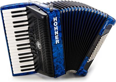 Hohner Bravo III 72 Blue (Design 2)