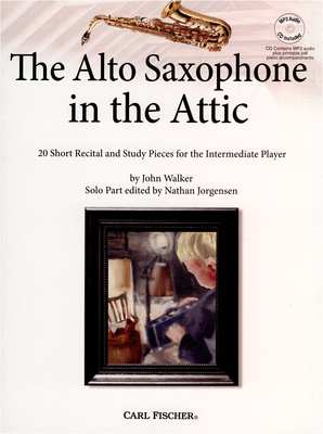 Alto Saxophone in the Attic