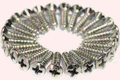 Fender Pickguard Screws Chrome
