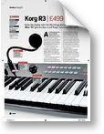 Korg R3 Synthesizer/Vocoder Future Music (05/2007)