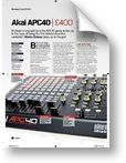 Akai APC 40 Future Music (05/2009)