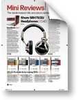 Shure SRH750 DJ Future Music (03/2010)