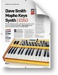 Dave Smith Instruments Mopho Keyboard Future Music (00/00)