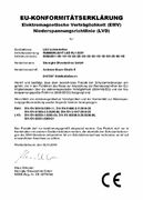 CE-Certificate Download