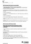 Bedienungsanleitung: Firmware Update Download