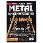 Music Sales Metal Rhythm Guitar Week 2