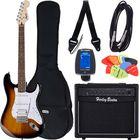 Fender SQ Bullet Strat HSS SB Bundle1