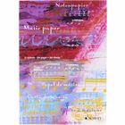 Schott Notenblock Music Paper