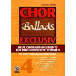 Alfred Music Publishing Chor Exclusiv 4 Ballads